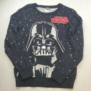 Star Wars Boy's Breathing Sound Space Sweater L